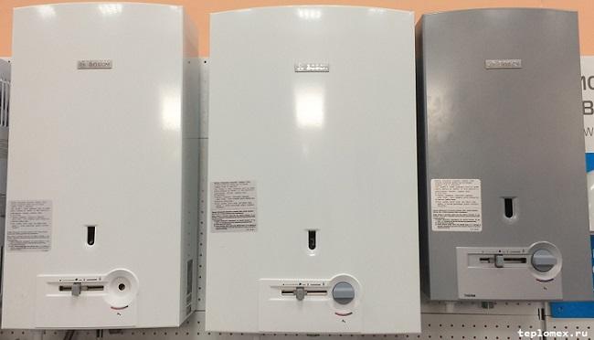 Bosch газовые колонки