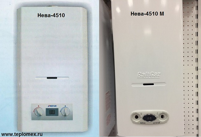 Газовая колонка neva 4510 м купить в «теплокомфорт-нн», цена.