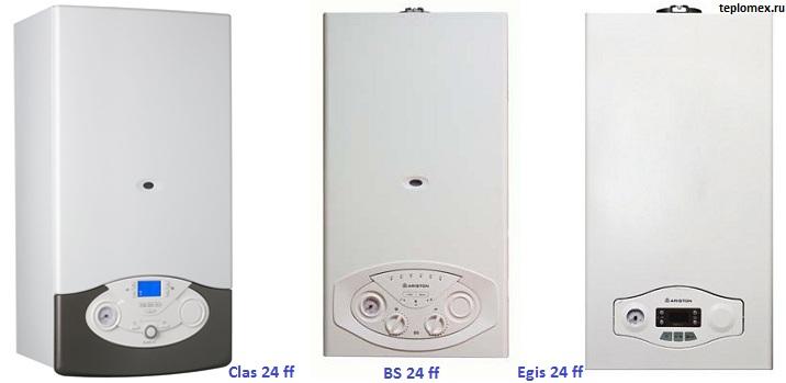 инструкция по эксплуатации газового котла аристон egis